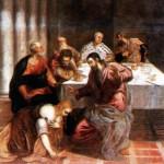 Cristo nella casa dei farisei, Tintoretto (1518-1594)