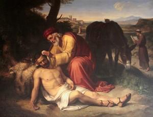 Il buon samaritano (1838), di Pelegrin Clavé Y Roque