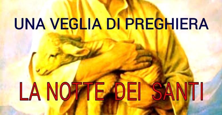 Calendario Santi Ottobre 2020.La Notte Dei Santi Veglia Di Preghiera Parrocchia San
