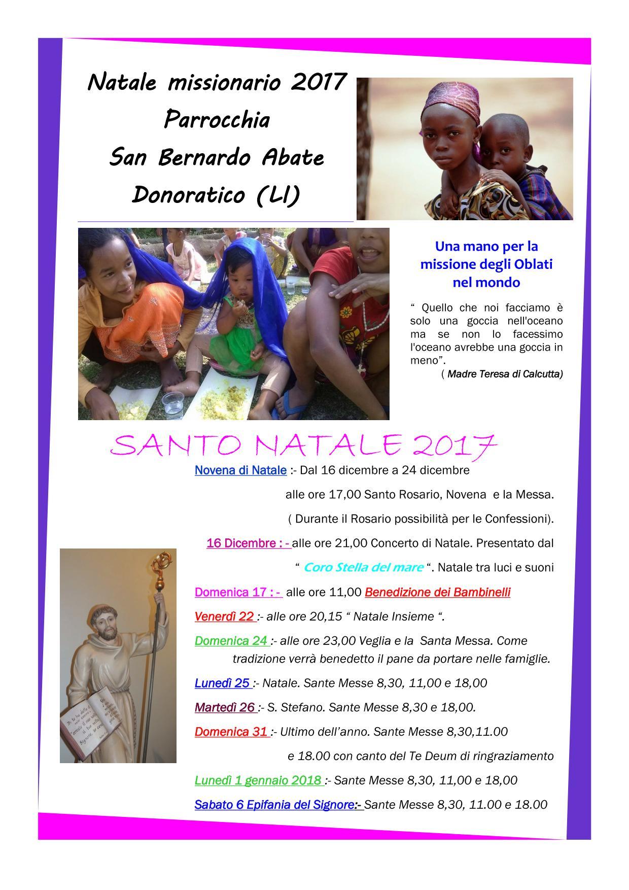 San Bernardo Donoratico - Natale 2017