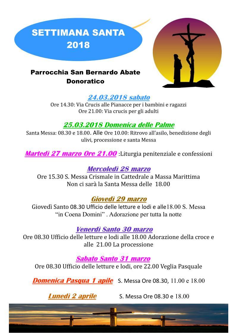 Settimana Santa 2018 - Donoratico