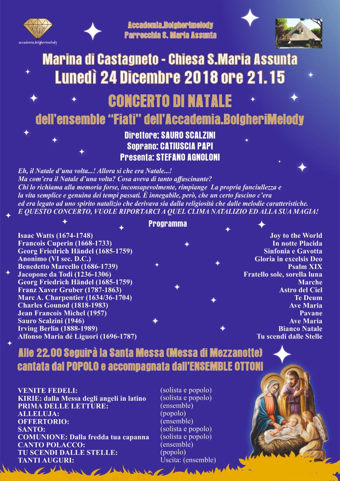 Concerto di Natale - Marina 2018